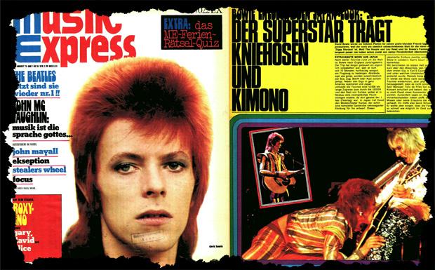 Musikexpress-Ausgabe August 1973