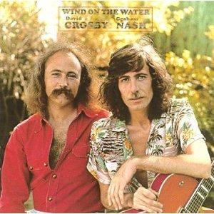 Crosby & Nash Wind On The Water Artwork