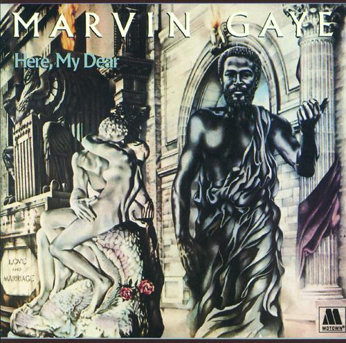 Marvin Gaye Here My Dear Cover