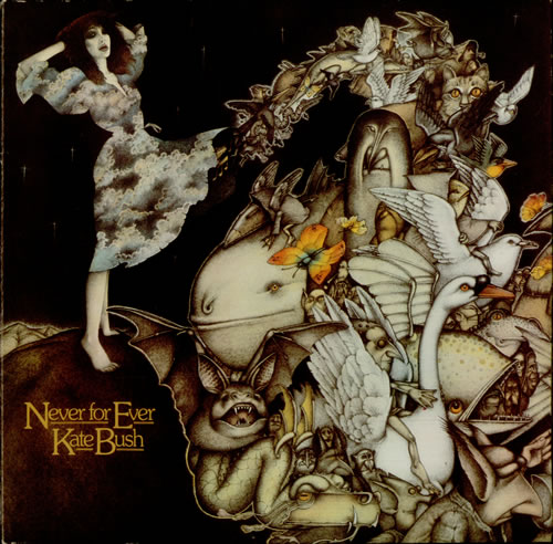 Kate Bush Never For Ever Cover