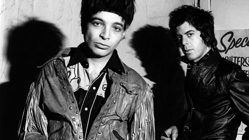 UNITED STATES - JANUARY 01:  Photo of SUICIDE; Alan Vega and Martin rev  (Photo by Ebet Roberts/Redferns)