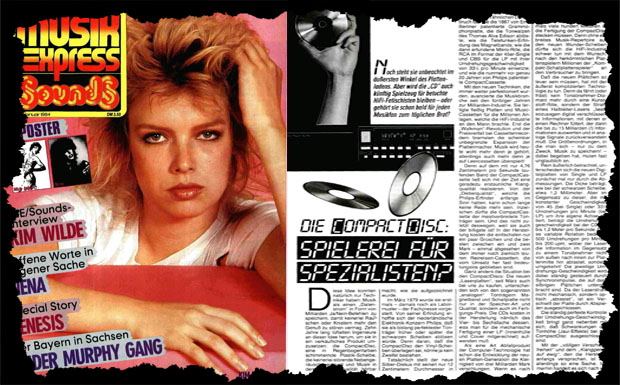Musikexpress Januar 1984