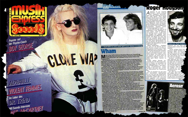 Musikexpress Januar 1985