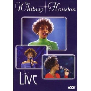 Whitney Houston Live DVD-Cover