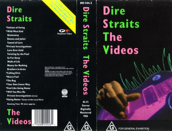 Dire Straits The Videos