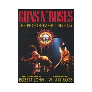 Guns N' Roses The Photographic History Cover