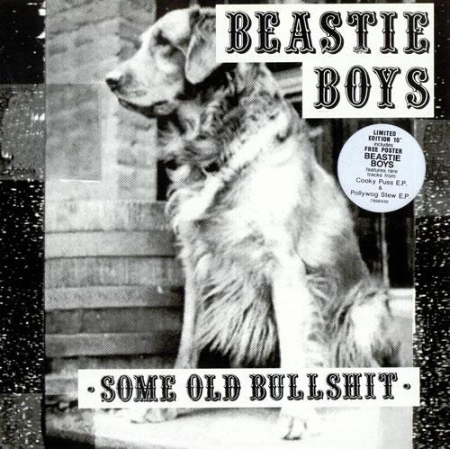 Beastie Boys Some Old Bullshit Cover