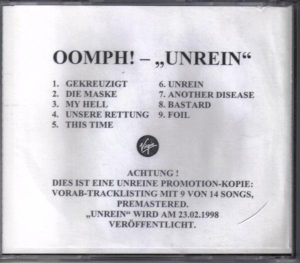 Oomph! - Unrein