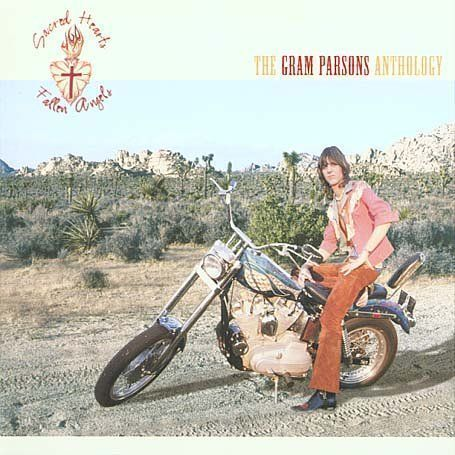 Gram Parsons Sacred Hearts And Fallen Angels Cover