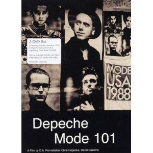 Depeche Mode 101 DVD-Cover