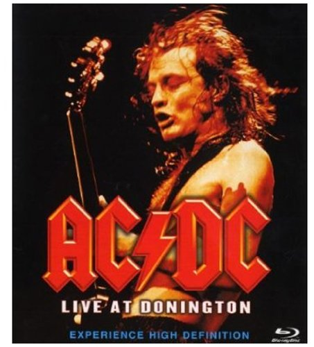 AC/DC Live At Donnington Cover