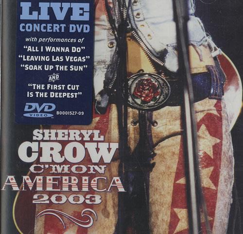Sheryl Crow C'mon America 2003 Cover