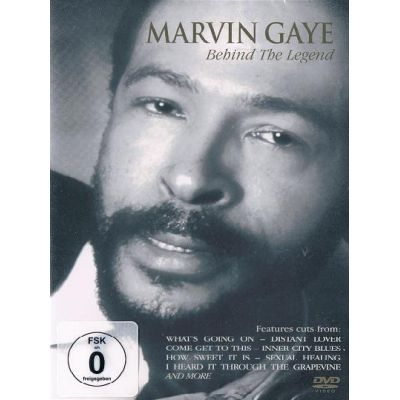 Marvin Gaye Behind The Legend Cover