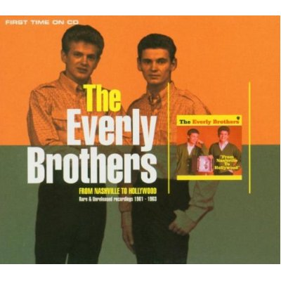 The Everly Brothers From Nashville To Hollywood Cover