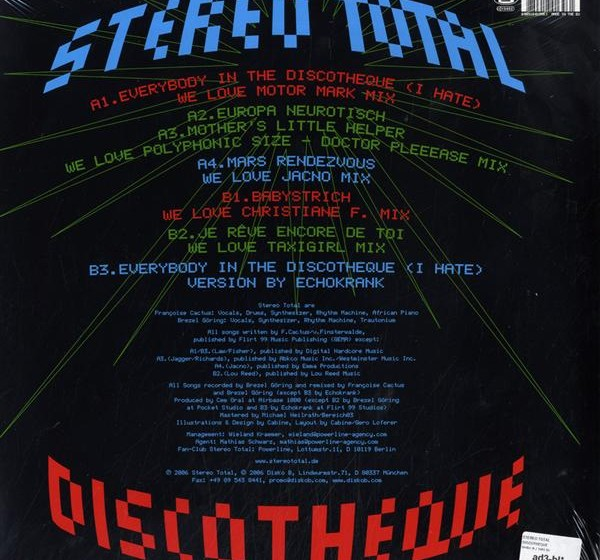 Stereo Total - Discotheque