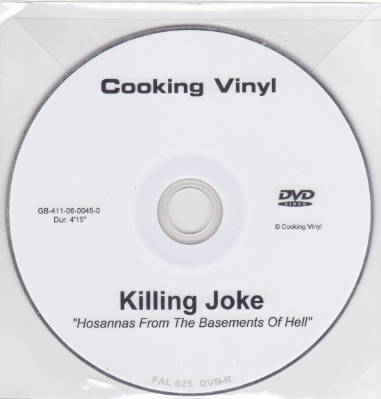 Killing Joke Hosannas From The Basements Of Hell Music, Movies, Style a...