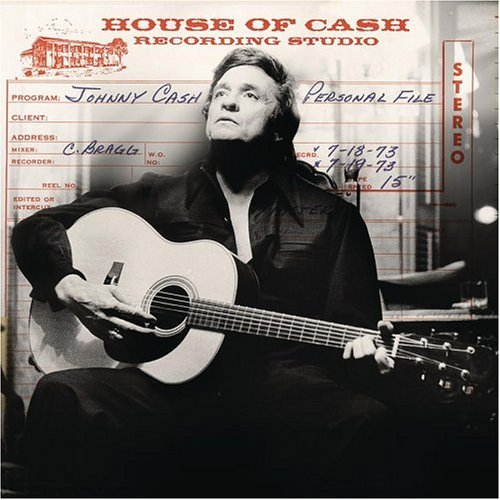 Johnny Cash Personal Files Cover