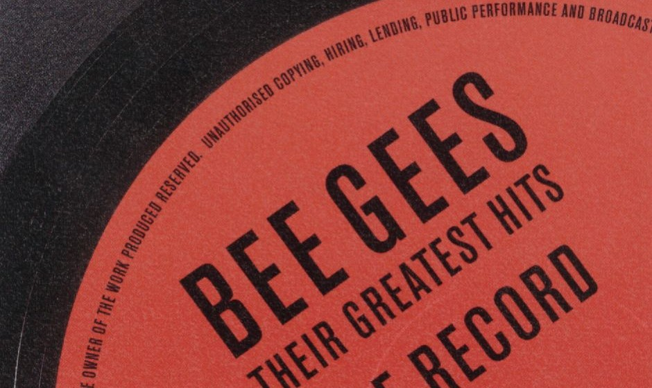 Bee Gees, The Record, Their Greatest Hits, Cover
