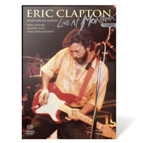 Eric Clapton Live In Montreux Cover