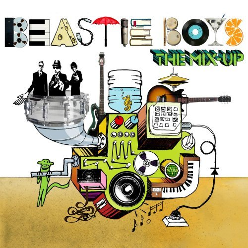 Beastie Boys The Mix Up Cover