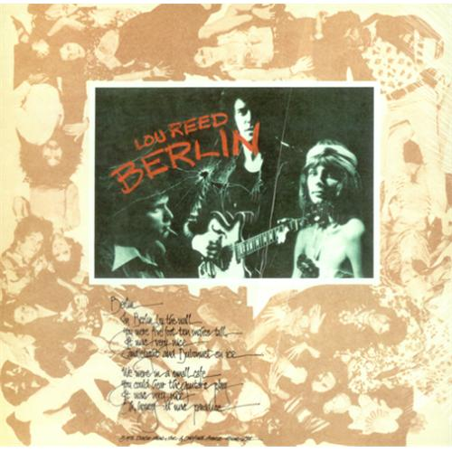 Lou Reed Berlin Cover