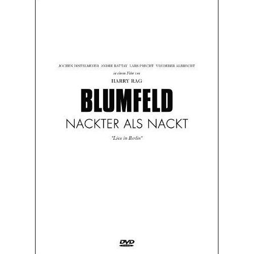 Blumfeld Nackter als nackt DVD Cover
