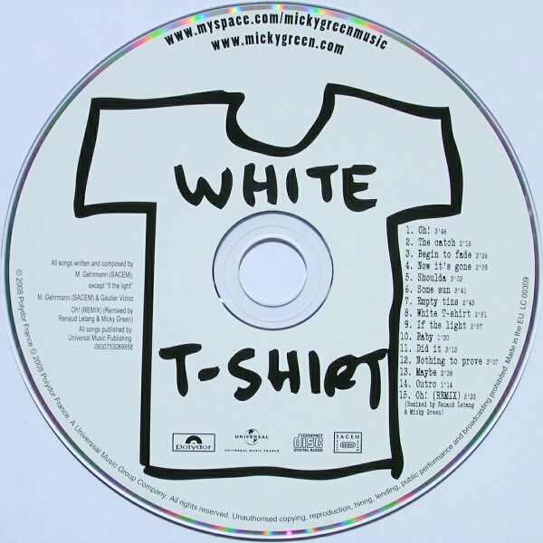 Micky Green - White T-Shirt