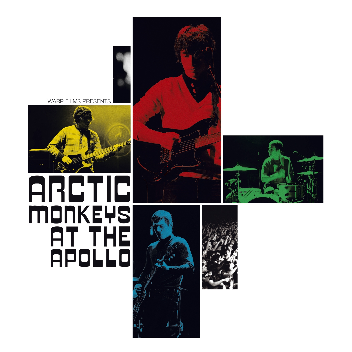 Arctic Monkeys, At The Apollo, DVD, Cover
