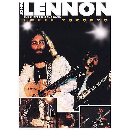 John Lennon Live In Toronto Cover