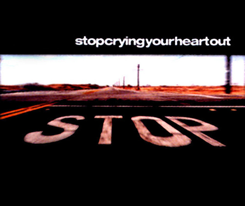 Oasis - Stop Crying Your Heart Out Single-Cover