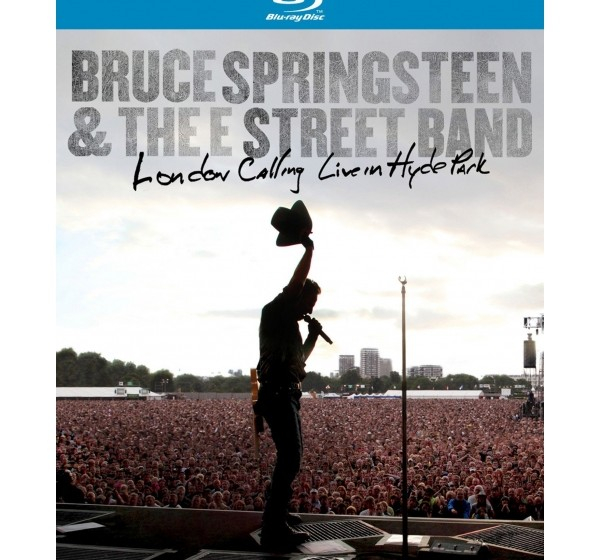 Bruce Springsteen Live in Hyde Park Cover