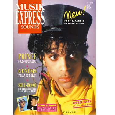 Me Cover 1987 - 1988