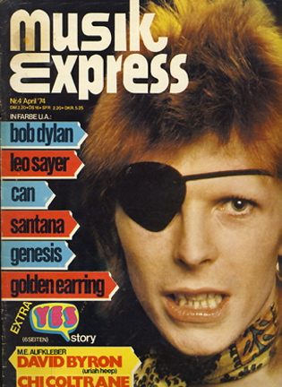 Musikexpress Titelbild 04 1974