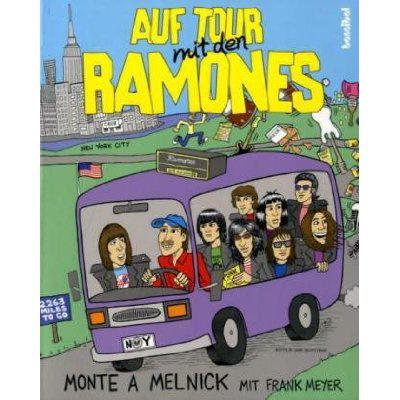 Monte A. Melnick mit Frank Meyer - Auf Tour mit den Ramones