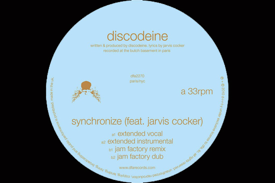 Discodeine Feat. Jarvis Cocker - Synchronize