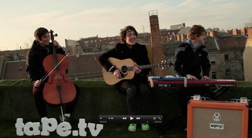 The Wombats - Dachkonzert bei tape.tv