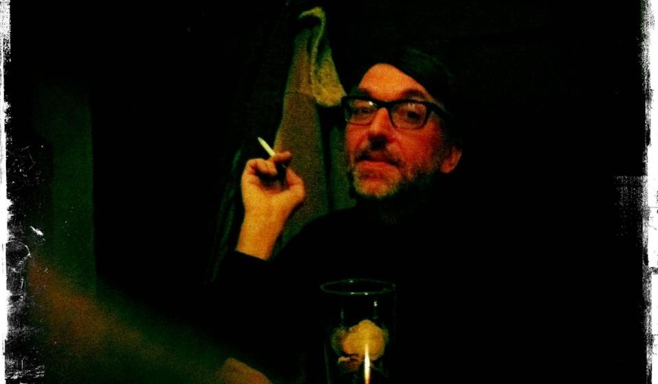 Albert Koch im Dunkeln