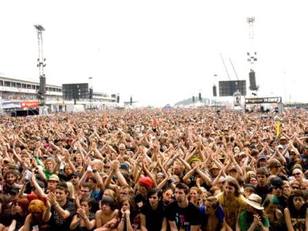 Auch am letzten Festivaltag noch Bomben-Stimmung bei Rock am Ring.