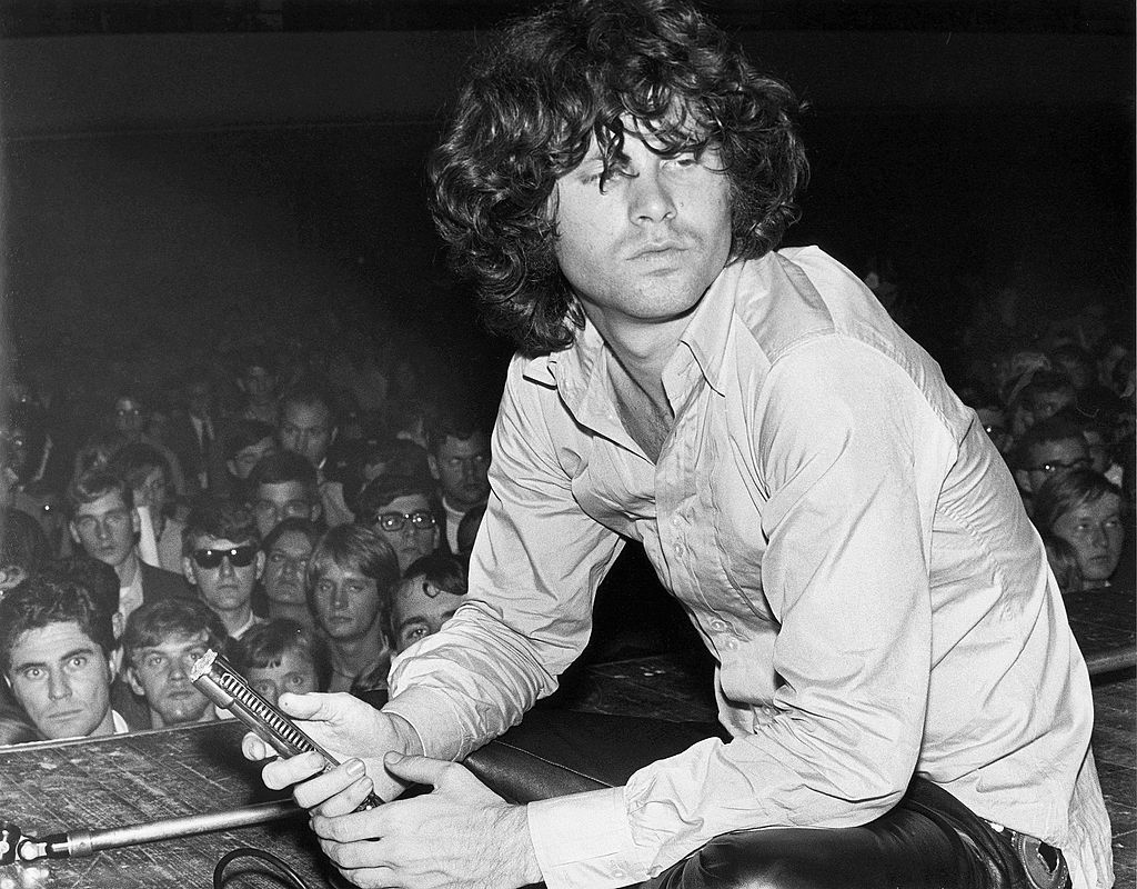 GERMANY - SEPTEMBER 01:  Photo of Jim MORRISON and DOORS; Jim Morrison live at the Star Club  (Photo by K & K Ulf Kruger