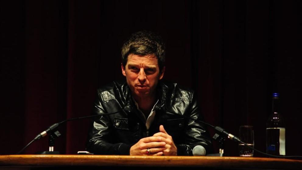 Noel Gallagher bei einer Pressekonferenz in London.