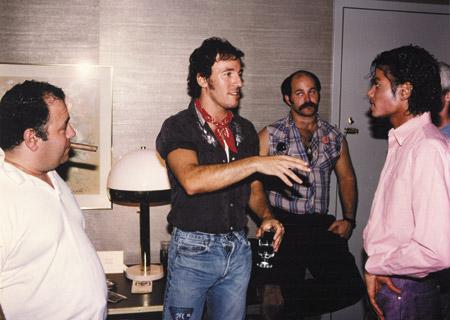 Bruce Springsteen und Michael Jackson