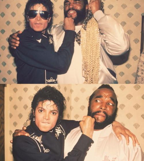 Mr. T und Michael Jackson