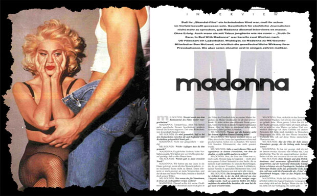 Madonna – Juli Musikexpress