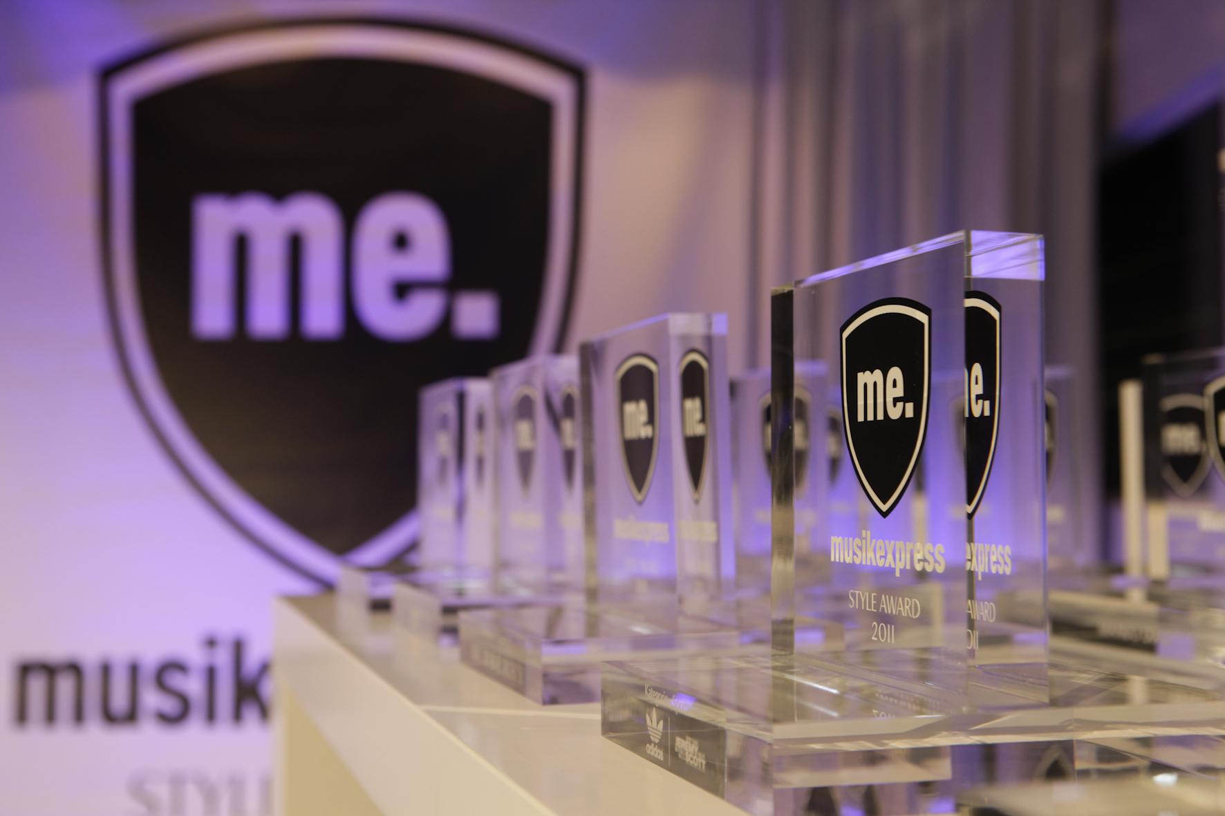 Der Musikexpress vergab Preise in 14 Kategorien.