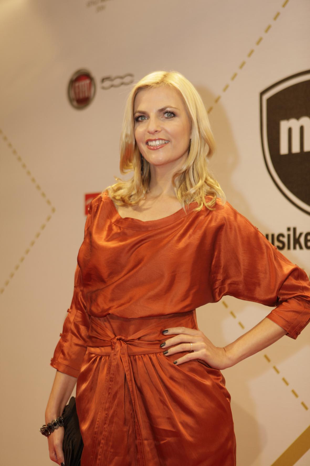 Moderatorin Tanja Bülter