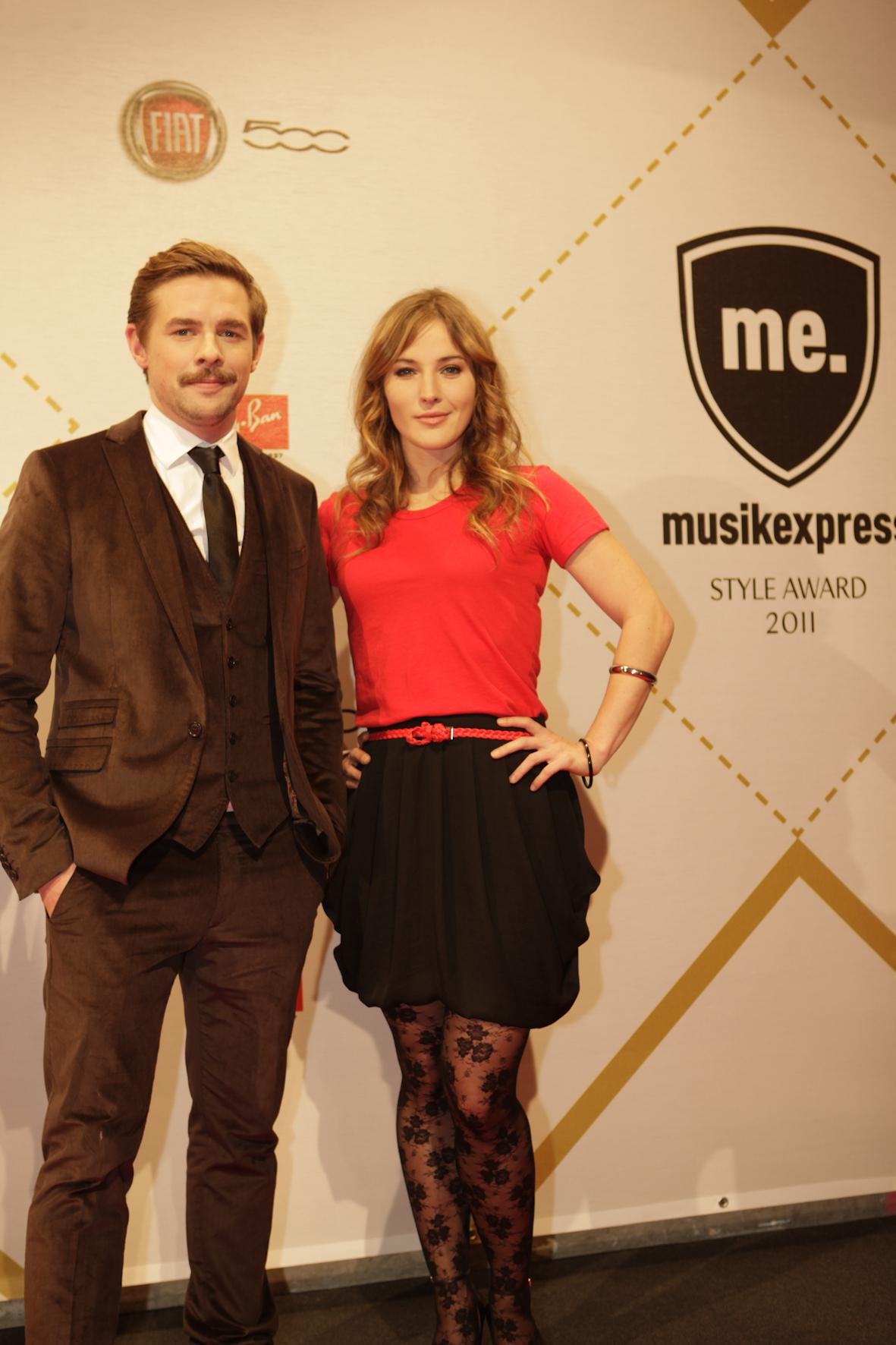Die TV-Moderatoren Klaas Heufer-Umlauf und Jeannine Michaelsen führten durch den Abend.