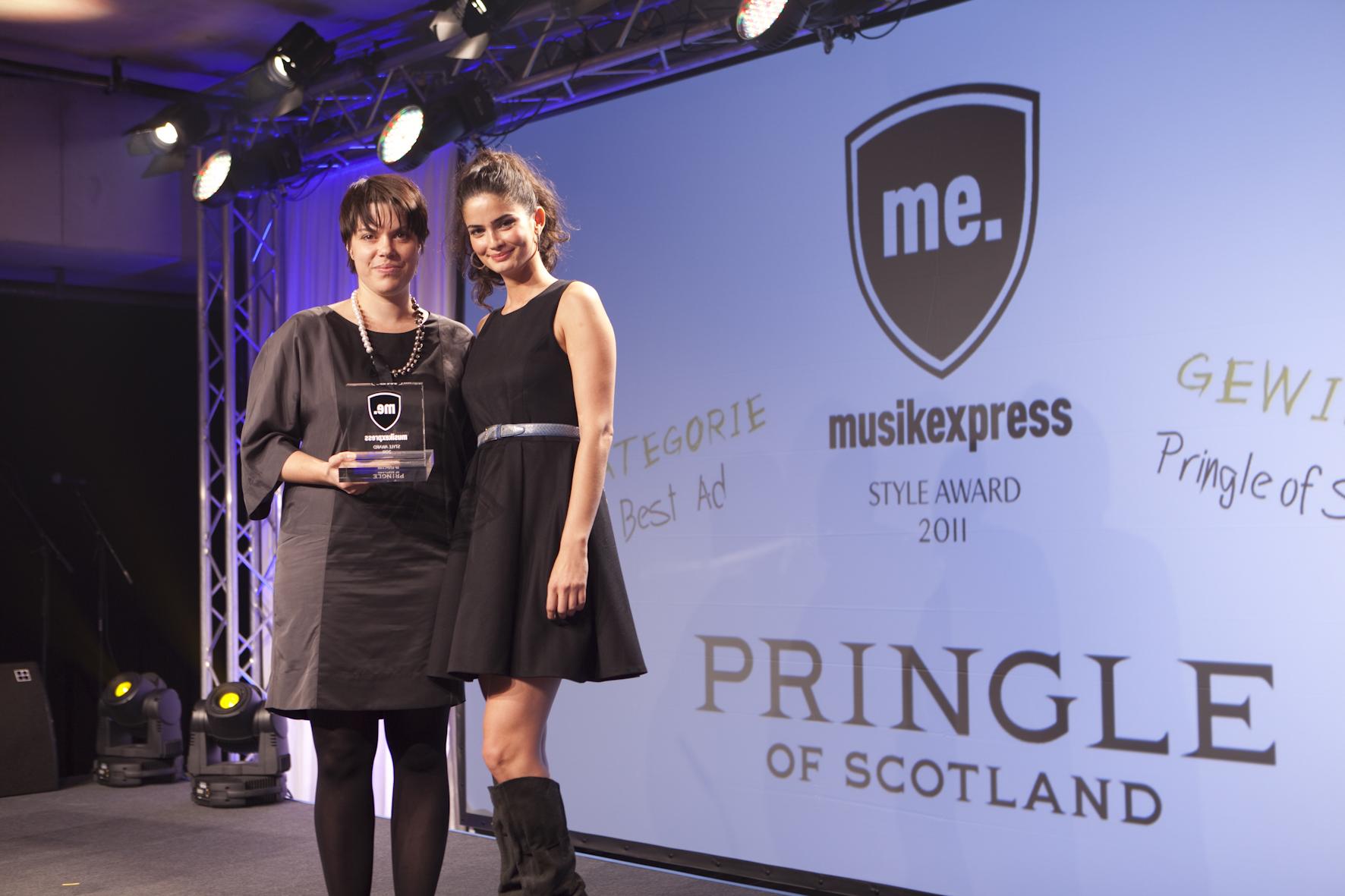 Ingrid Meyer-Lohrmann (Pringle of Scotland) mit Shermine Sharivar