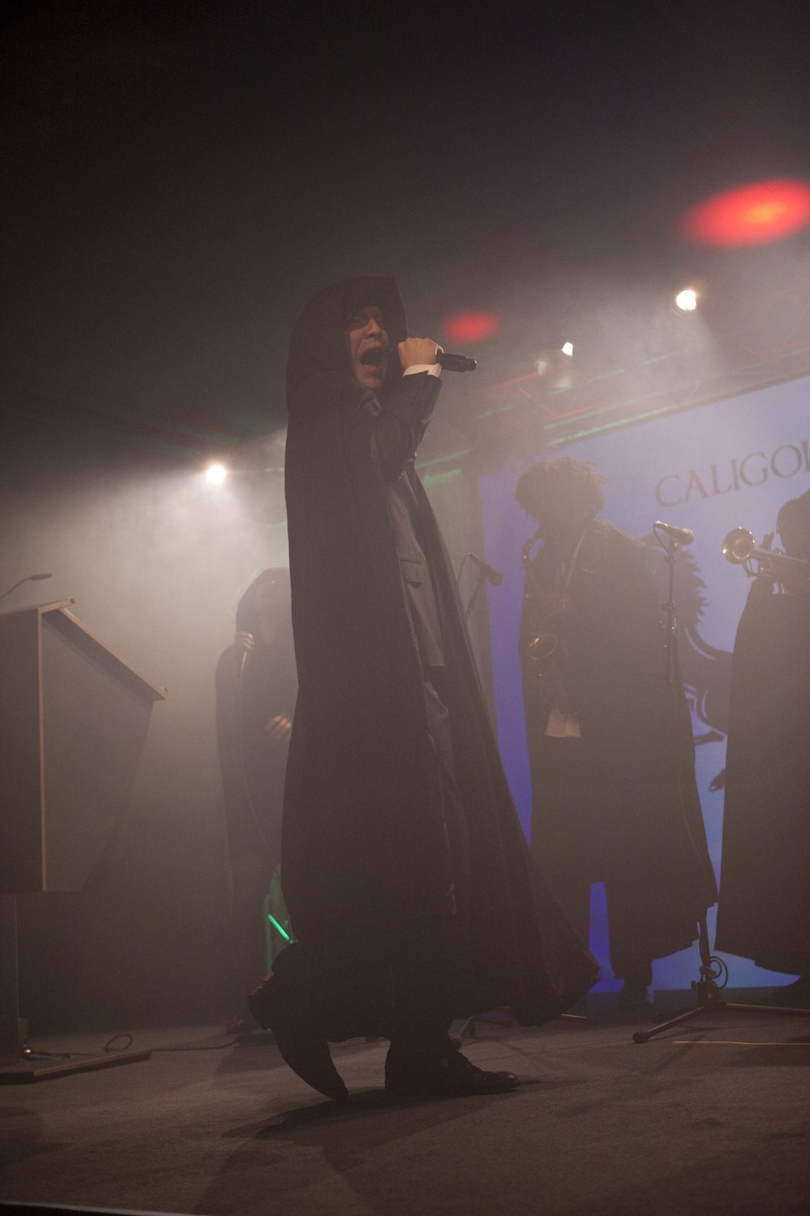 Caligola feierten zum Abschluss der Awards ihre Livepremiere.