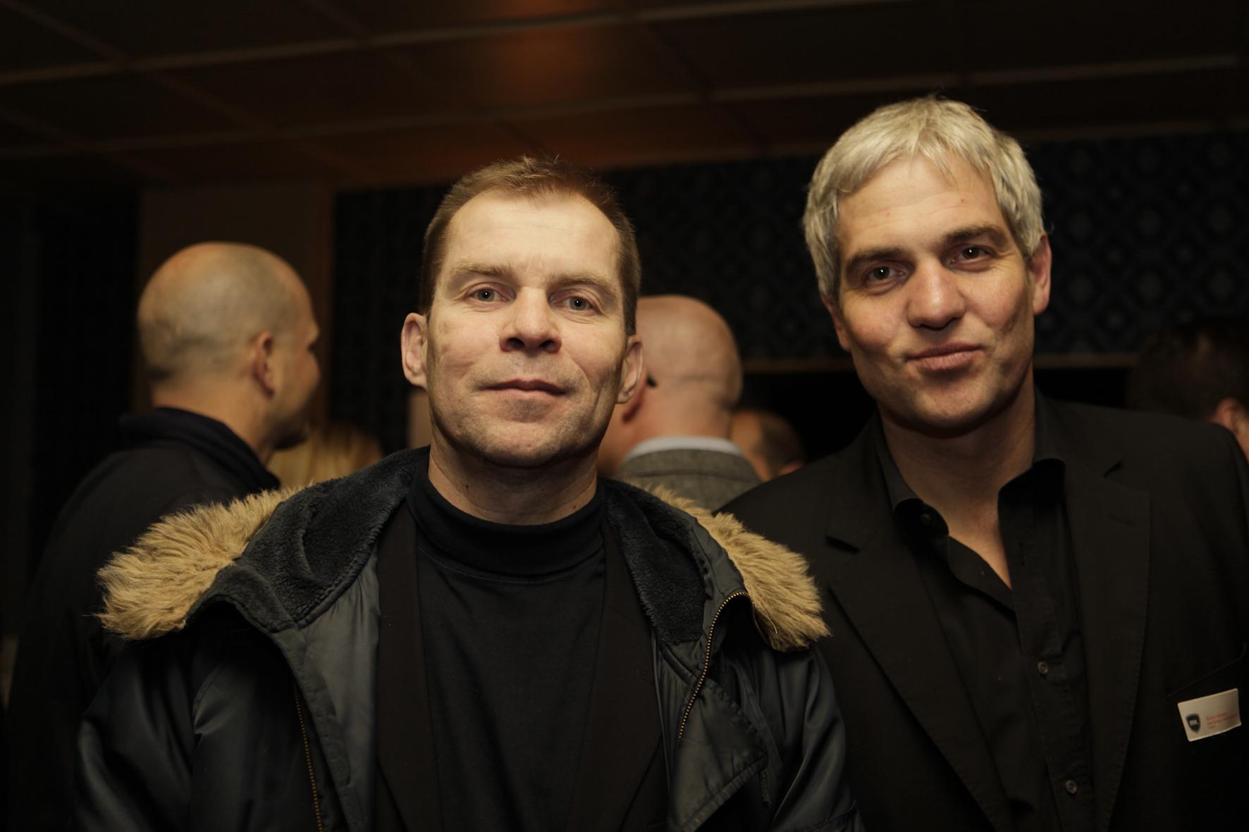 ME-Redaktionsleiter Ralf Niemczyk (li.) mit ME-Chefredakteur Rainer Schmidt.