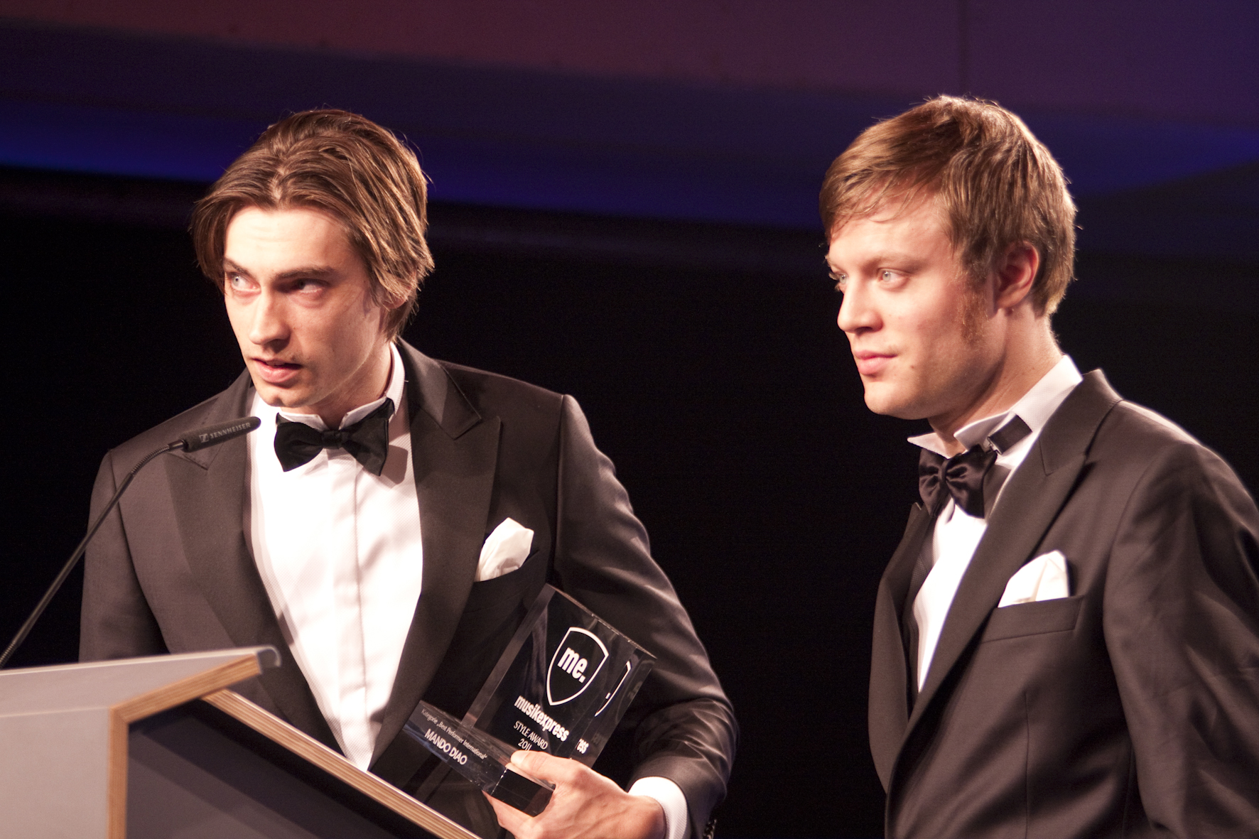 Björn Dixgård und Gustaf Norén von Caligola und Mando Diao